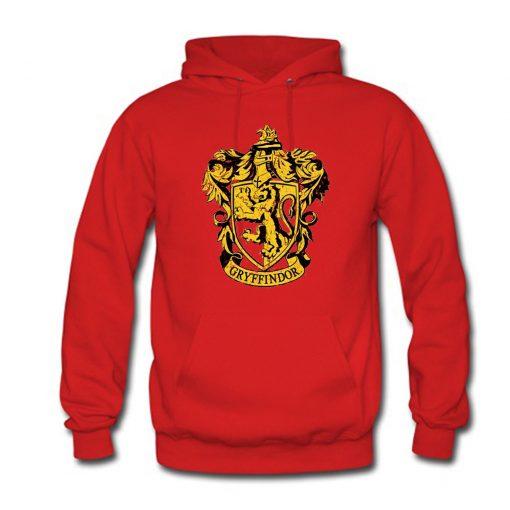 Harry Potter Gryffindor Crest Hoodie (Oztmu)