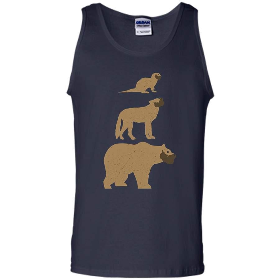 Otter Wolf Bear Gay Slang LGBT Pride T-Shirt - T-Shirts