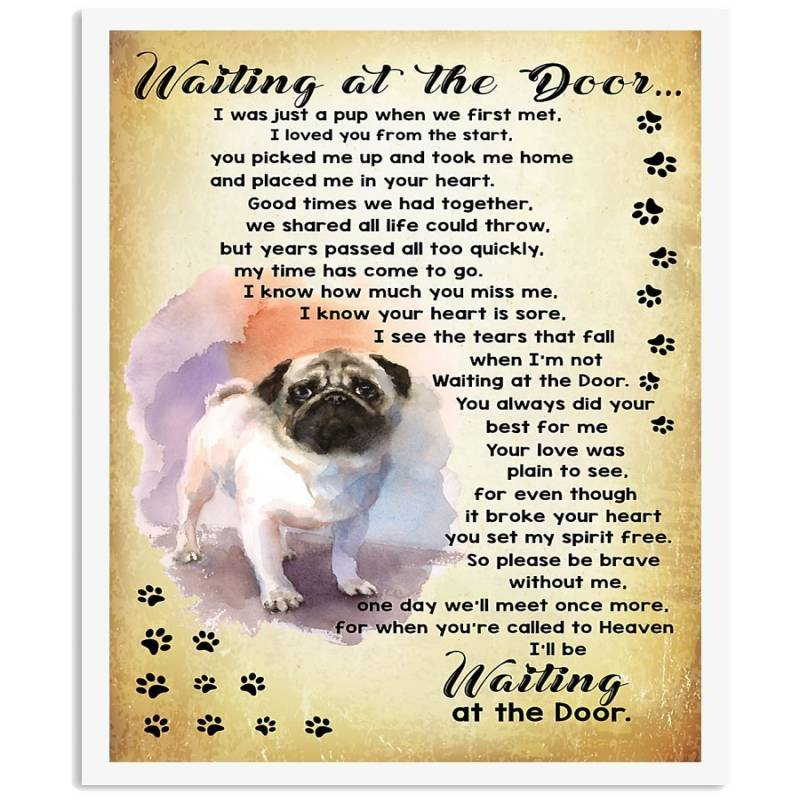 Pug Lover Shirt Vertical Poster