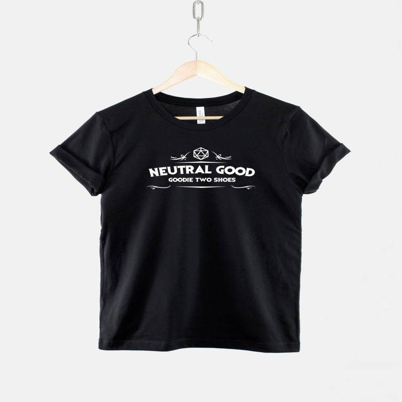 Dungeons And Dragons Inspired T-Shirt / Neutral Good Alignment / RPG Gamer DnD T Shirt / Goodie Two Shoes