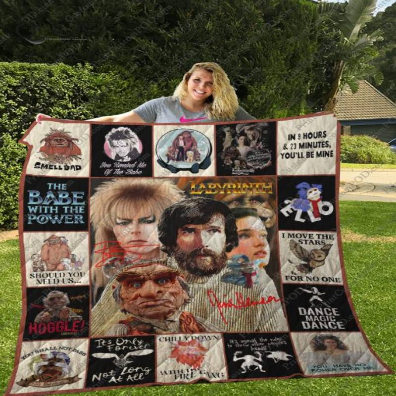 Dd – Jim Henson – Labyrinth T-shirt Quilt – Ver.1017