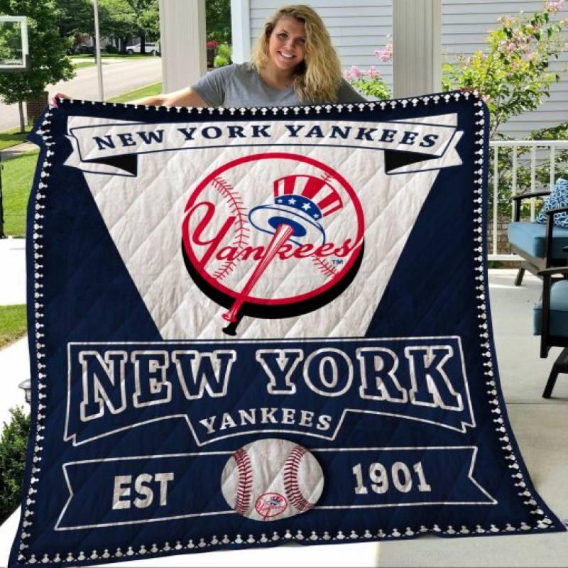 New York Yankees Quilt Blanket LC6