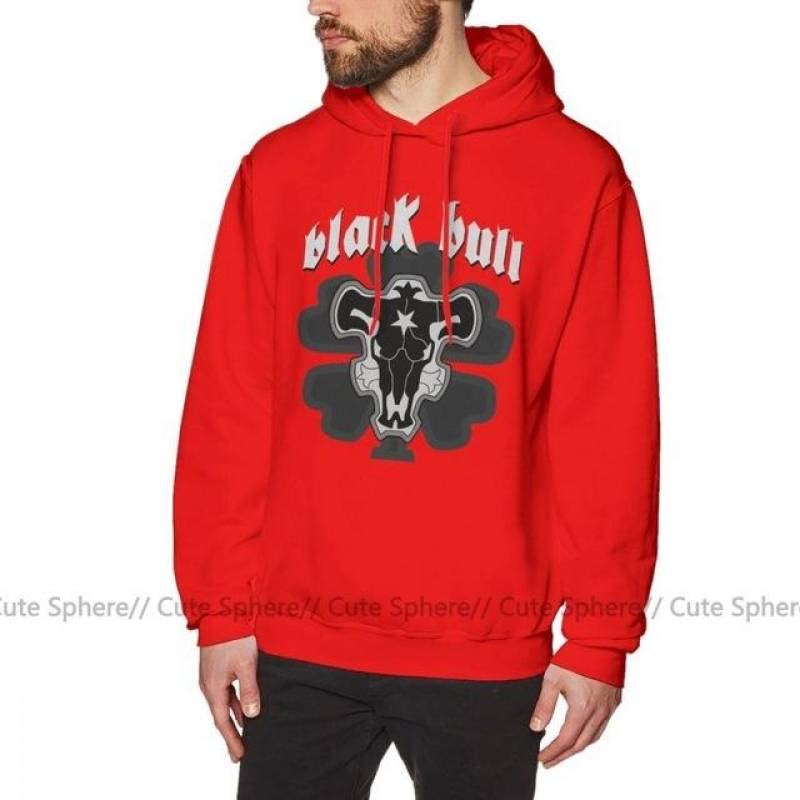 Black Clover Black Bulls Pullover Hoodie