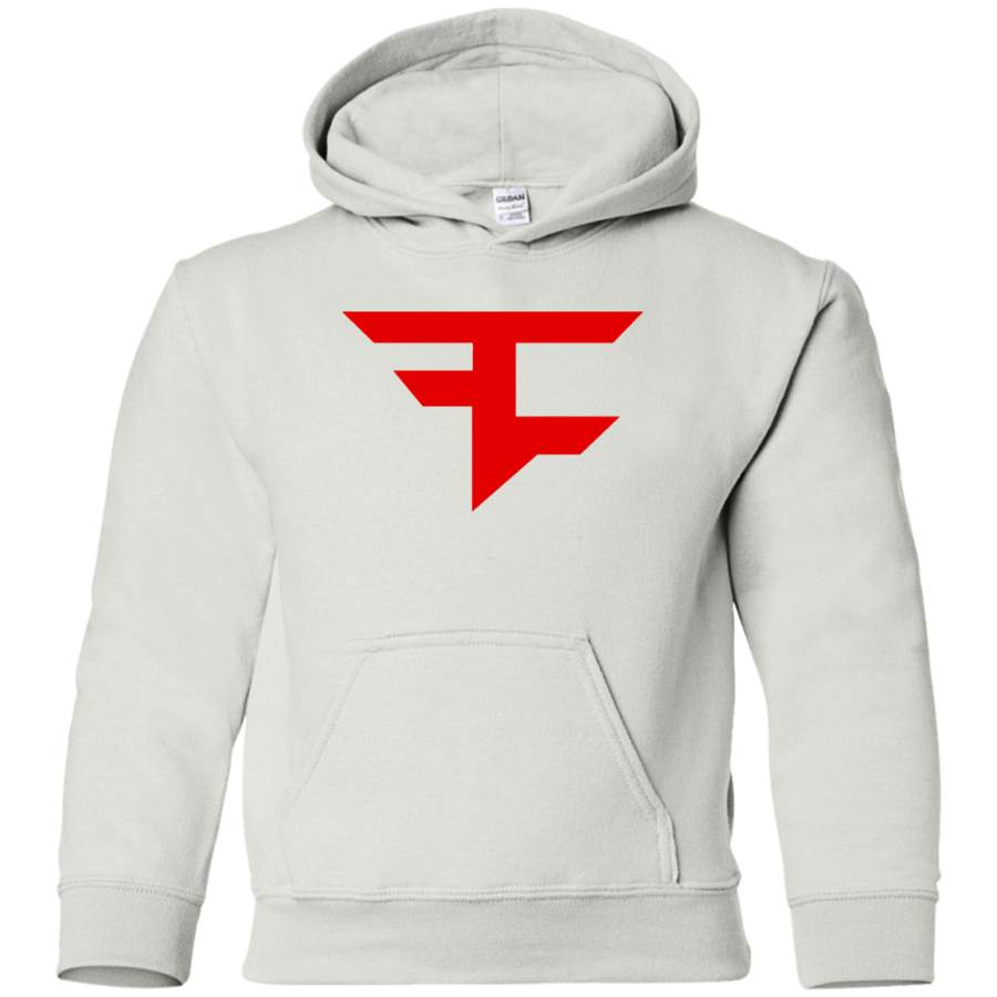 AGR FaZe Clan logo Youth Pullover Hoodie - Hashly Store