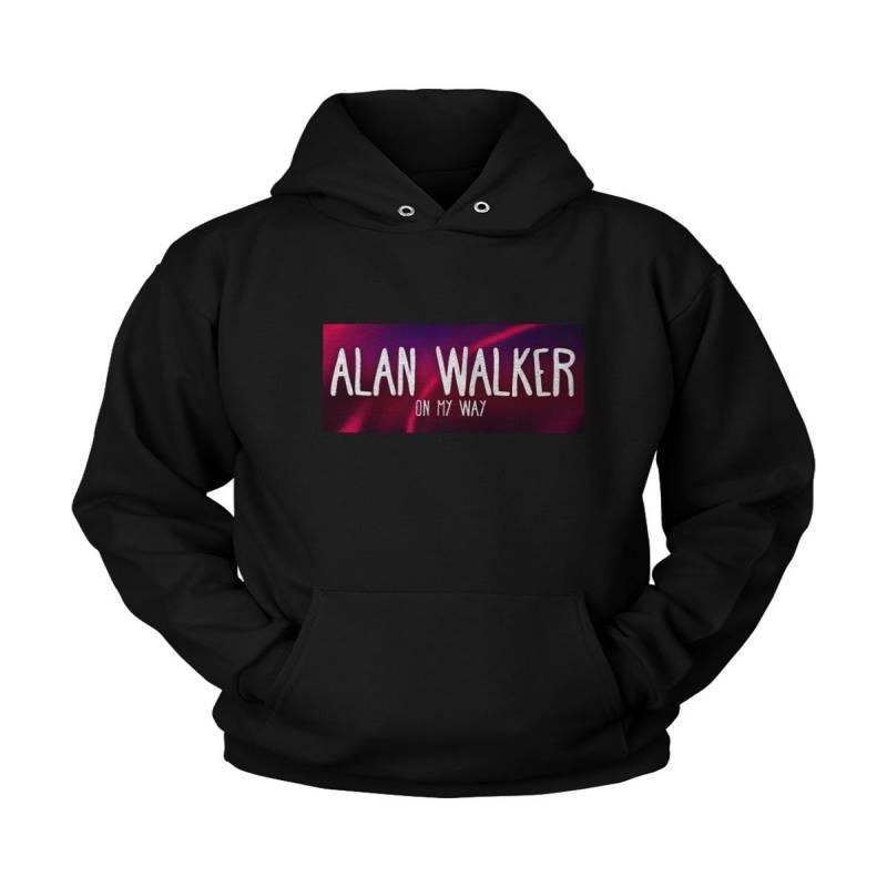 Alan Walker On My Way Poster Unisex Hoodie