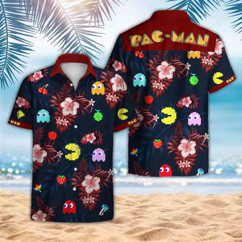PacMan Hawaii Shirt