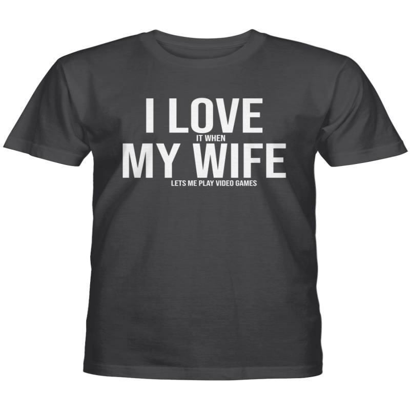 i love my wife Mike Evans Shirt