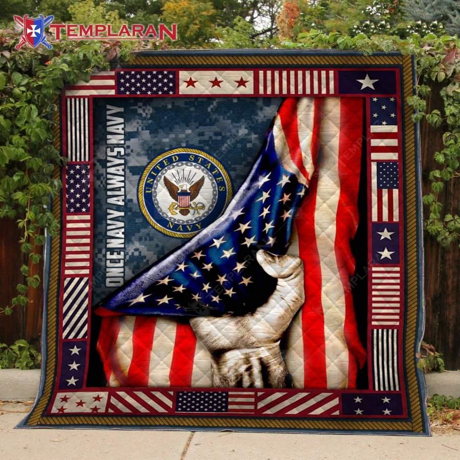 US NAVY Blanket 3D Printing DHL-QML024