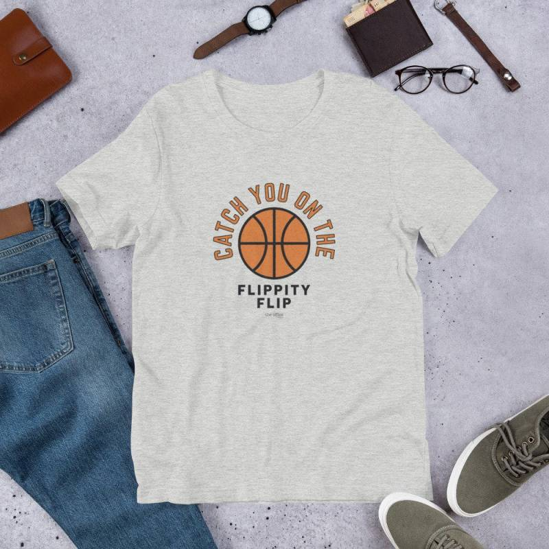 The Office Catch You On The Flippity Flip Short-Sleeve Unisex T-Shirt - Official NBC Store