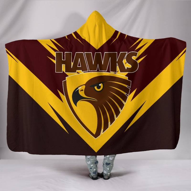 The Hawthorn Football Club Hooded Blanket A25