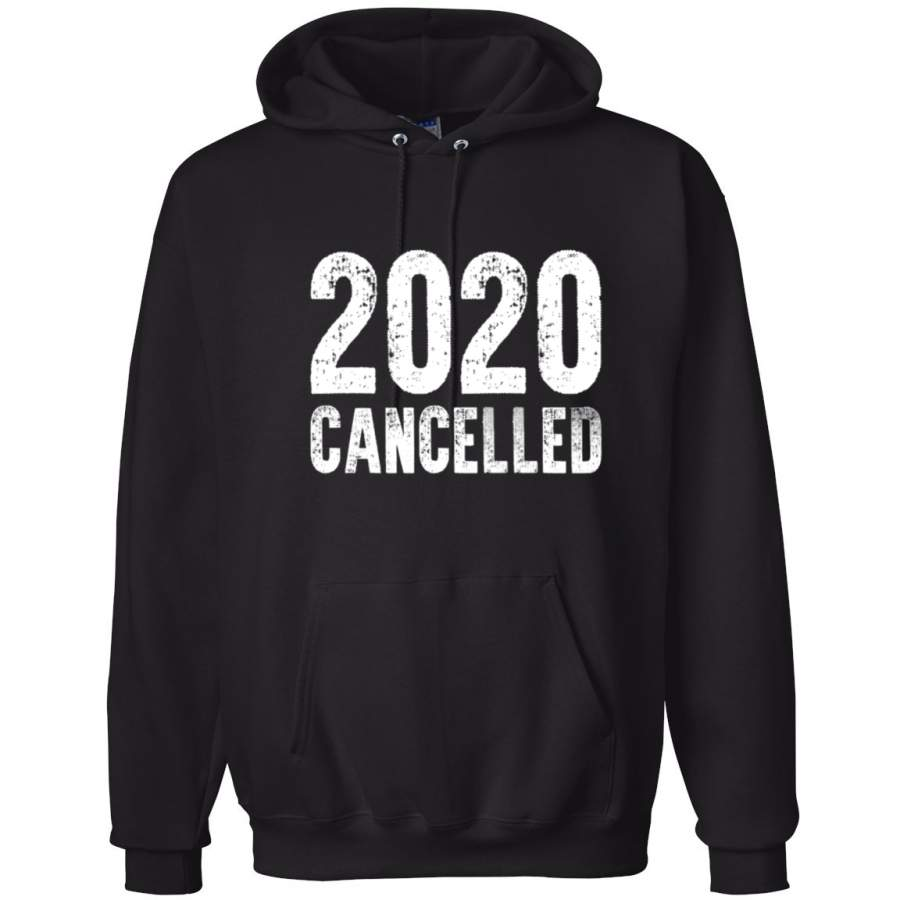 2020 Cancelled Funny Virus Quarantine Pandemic Pop Culture Hooded Sweatshirt Graphic Hoodie