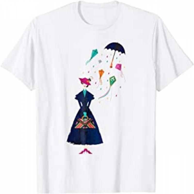 Mary Poppins Umbrella T-shirt