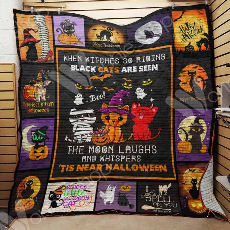 Cat Witch Blanket AU1501 97O34
