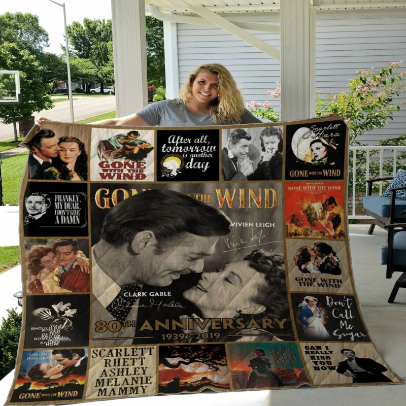 Gone with the Wind Poster Quilt DHC191191DD