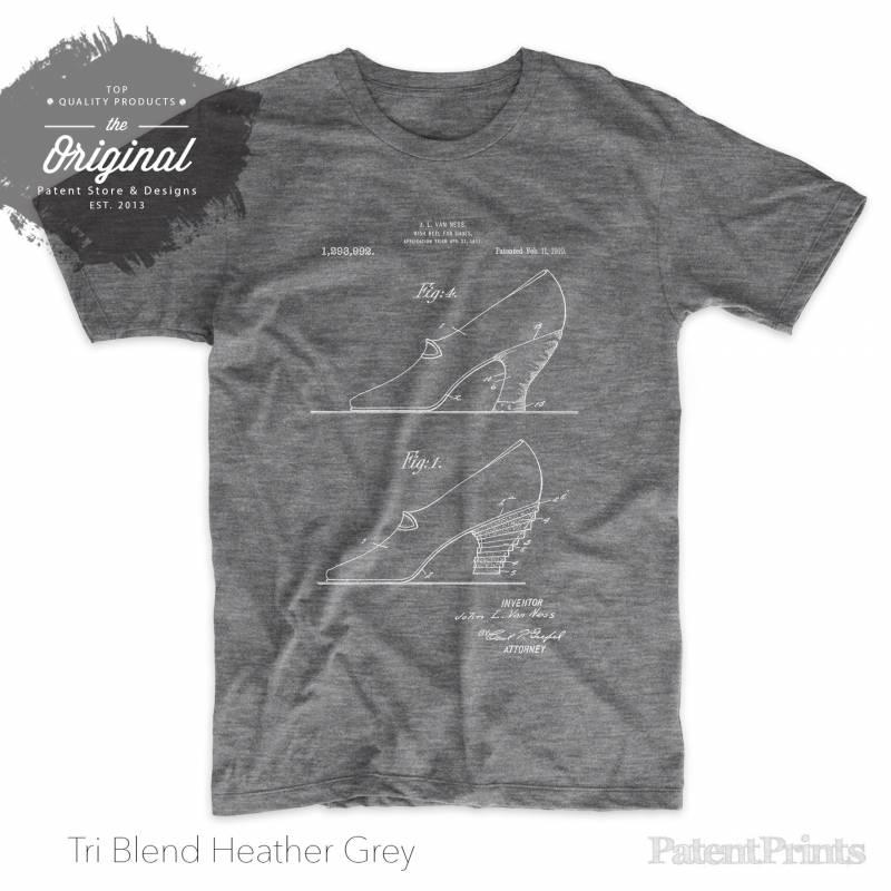 High Heel Shoes 1919 Patent T Shirt, Shoe Shirt, Girls T Shirt, Women's Shoes, Fashion Shirt, PP0879