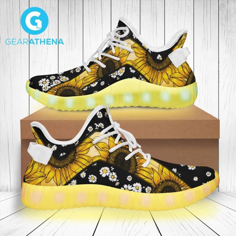 Led Shoes- Daisy Flower-LT0306GV8-Tads