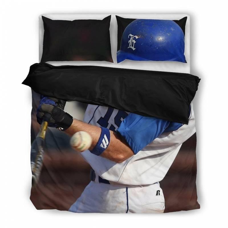 Batter Up Baseball Duvet and Pillow Cover Set – Muggalicious Bedding