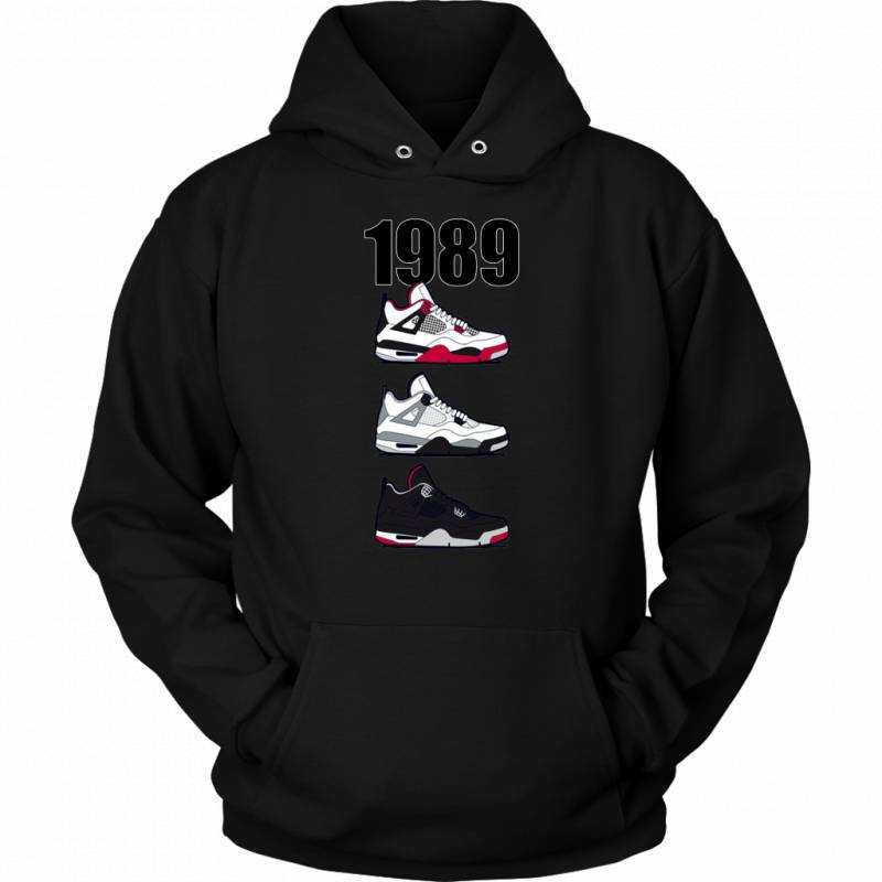 Respect The Shoes AJ 1989 Pullover Hoodie