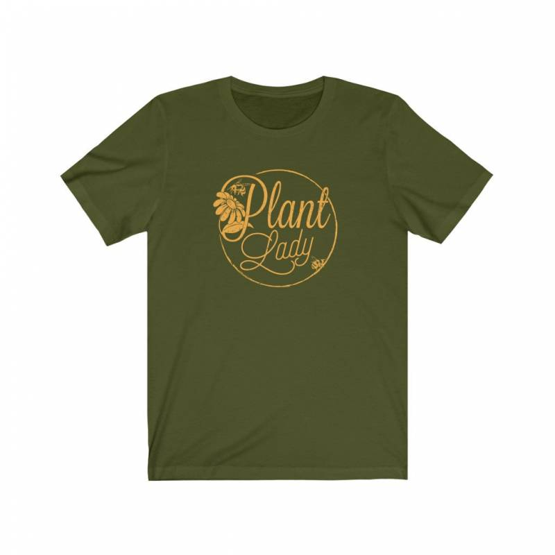 Plant Lady Shirt, Gardening Gift for Mom, Gift for Sister, Gift for Friend, Botanist Shirt,  Herbalist Shirt, Bee Shirt, Honey Shirt