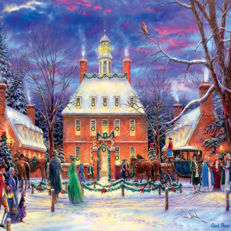 Artsyhomes [Jigsaw Puzzles] Chuck Pinson Governor's Party Jigsaw Puzzle  CL27050059