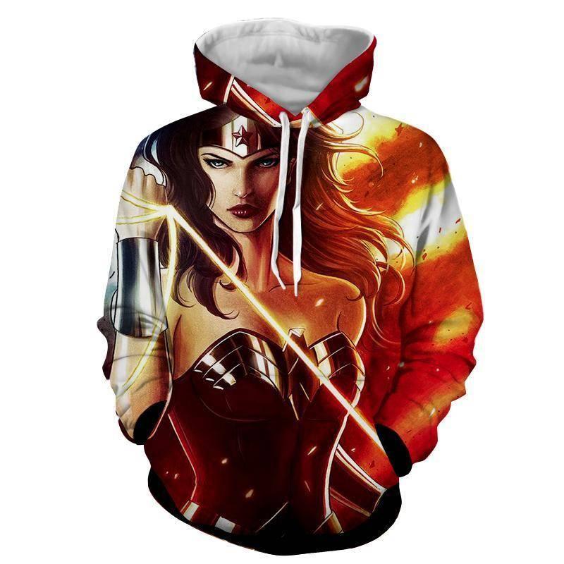 3D Printed Quiddity Wonder Woman Hoodie