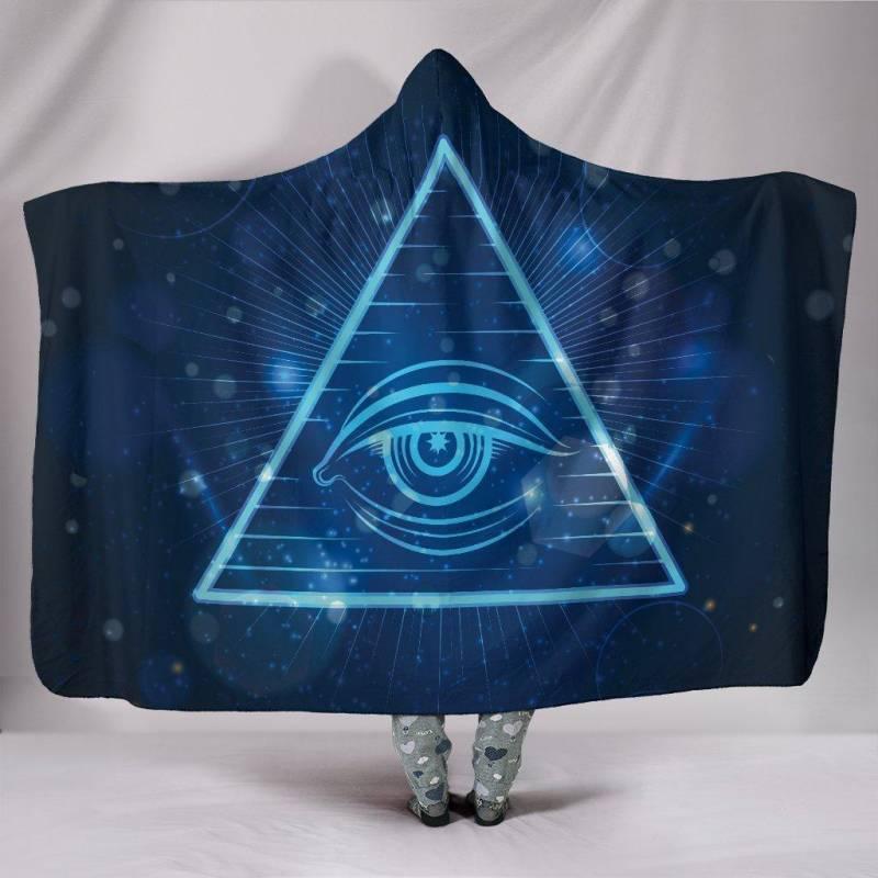 Spirit Eye Hooded Blanket