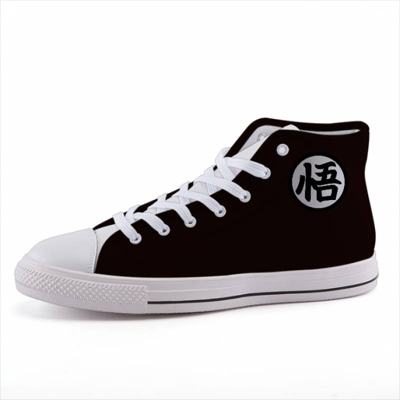 Dragon Ball Goku Kanji Symbol Simple Style Sneaker Shoes