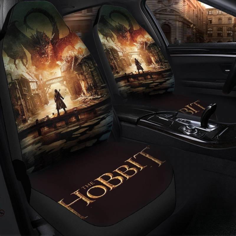The Hobbit Smug Dragon Car Seat Covers