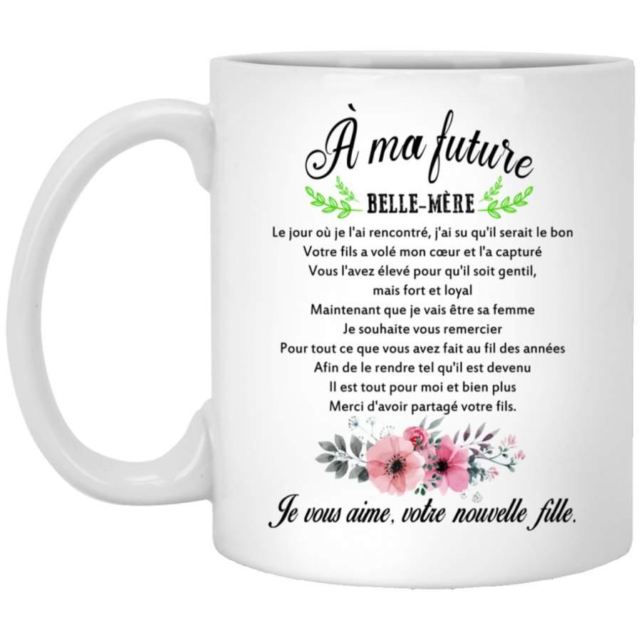 À ma future belle-mère mug (2)
