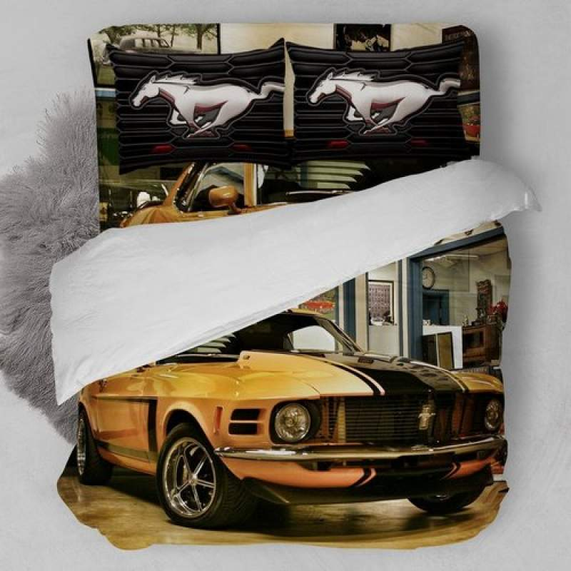 1970 Ford Mustang – Treasured Motorcar Bedding Set