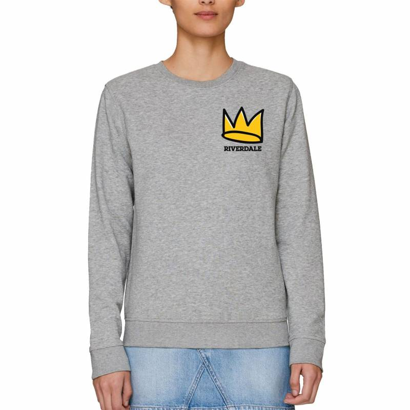 Riverdale Crown Adults Unisex Grey Sweatshirt