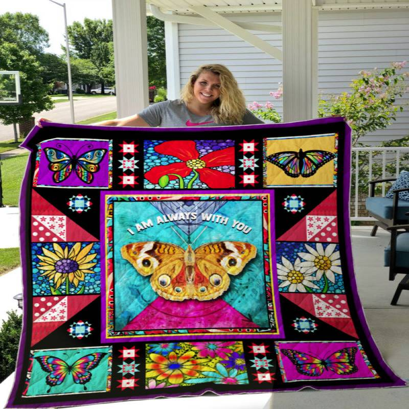 I Am Always With You, Butterfly Quilt THH972