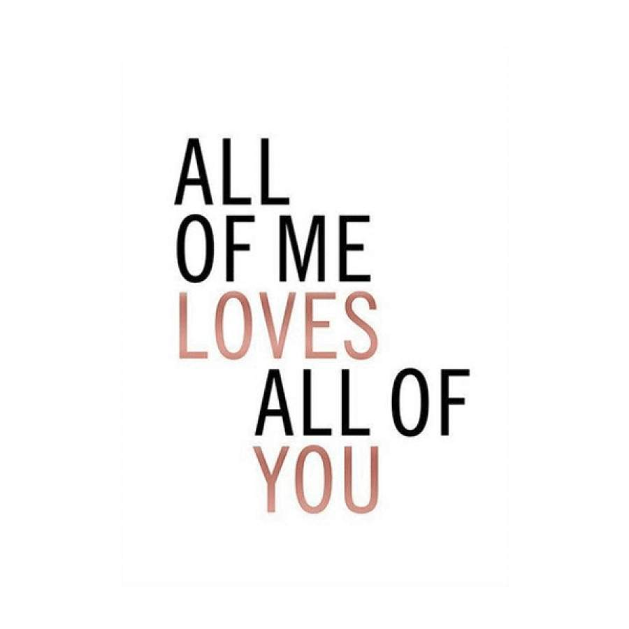 All Of You Poster