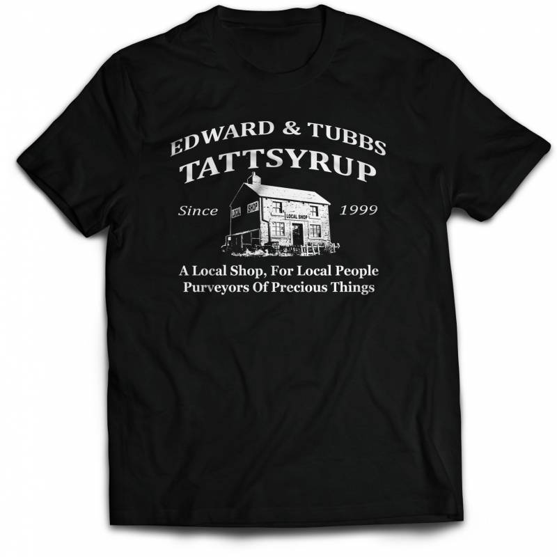League of Gentlemen T-Shirt Tubbs & Edward Tattsyrup Local Shop. Funny T Shirt Quality screen printed, various sizes