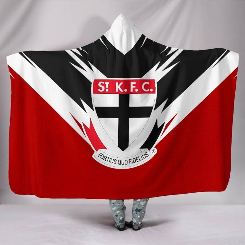 The St Kilda Football Club Hooded Blanket A25