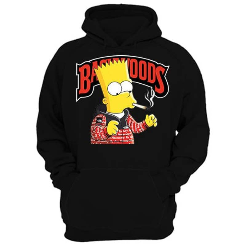 Backwoods Smoking Simpsons Hoodie