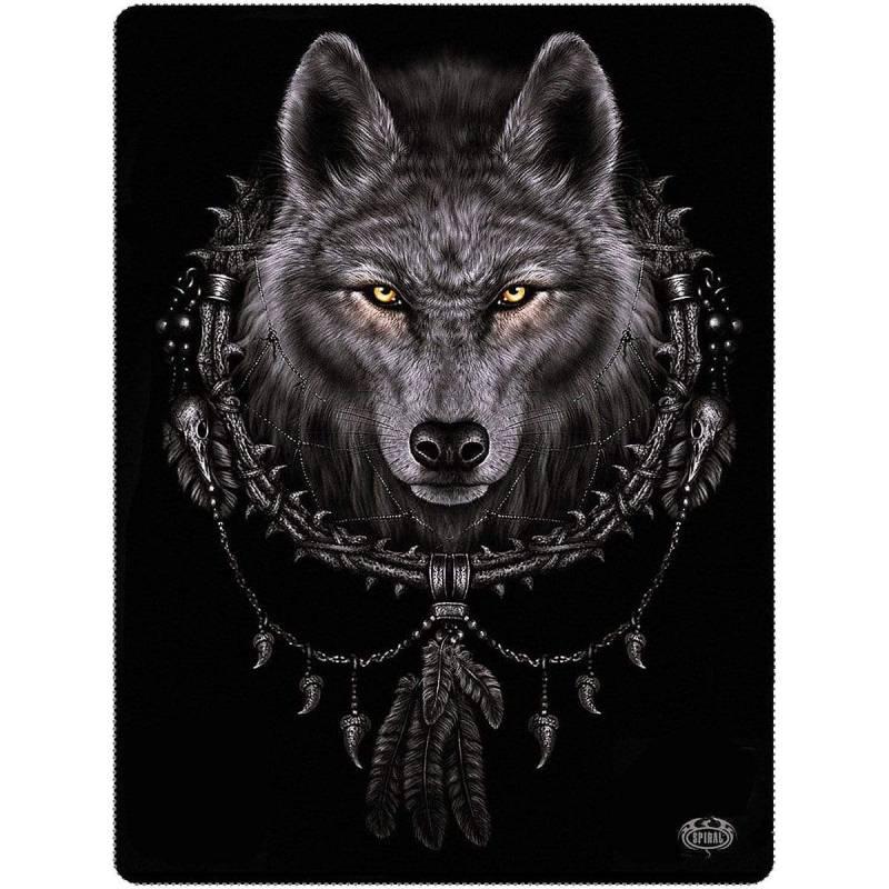 WOLF DREAMS - Fleece Blanket