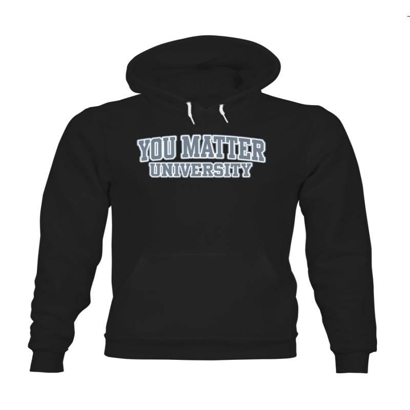 You Matter Shop Demetrius Harmon Black Hoodie