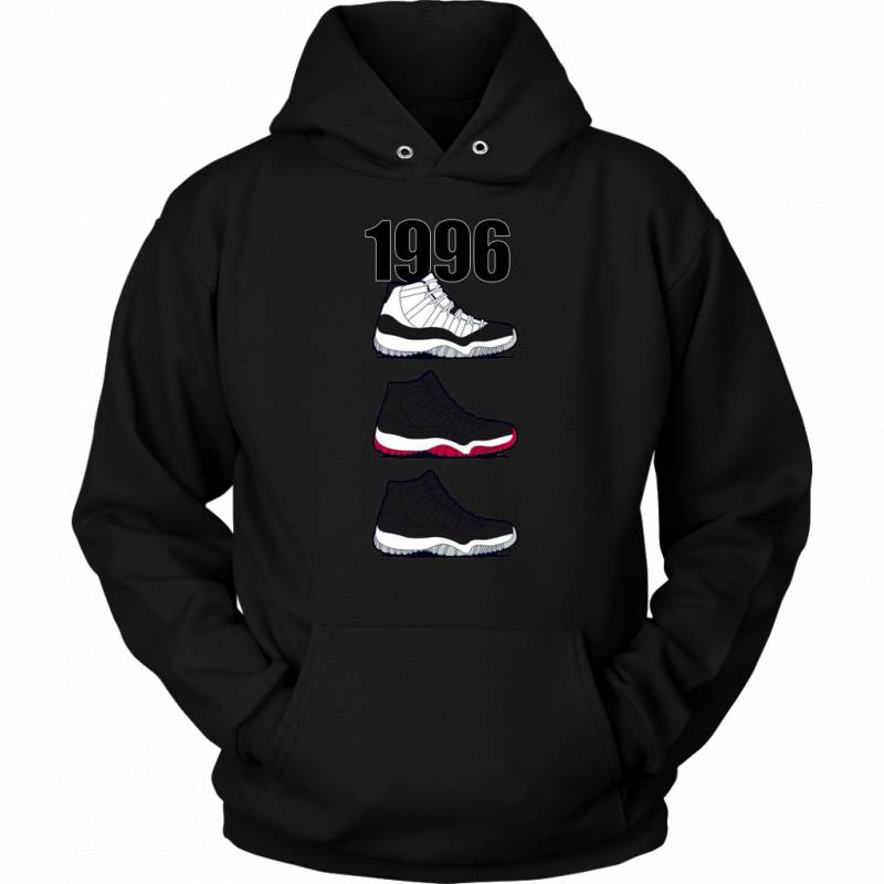 Respect The Shoes AJ 1996 Pullover Hoodie