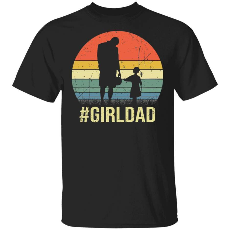 Vintage Kobe Bryant And Gianna Bryant Girl Dad Shirt
