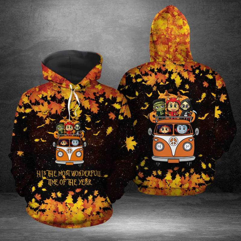 Its the most wonderful time of the year Halloween H16931 - All Over Print Unisex Hoodie
