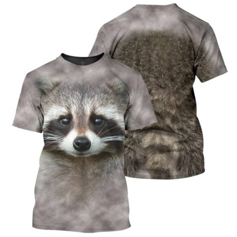 Raccoon – 3D All Over Printed Shirt Hoodie – TAGOTEE