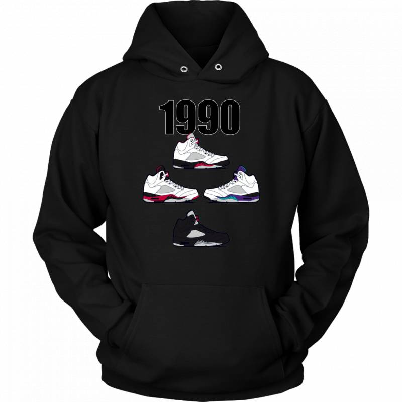 Respect The Shoes AJ 1990 Pullover Hoodie