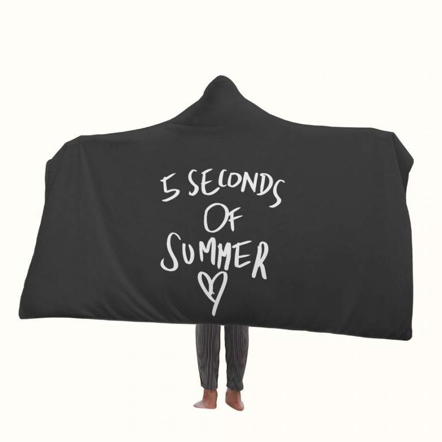 5 Seconds of Summer Love Hooded Blanket