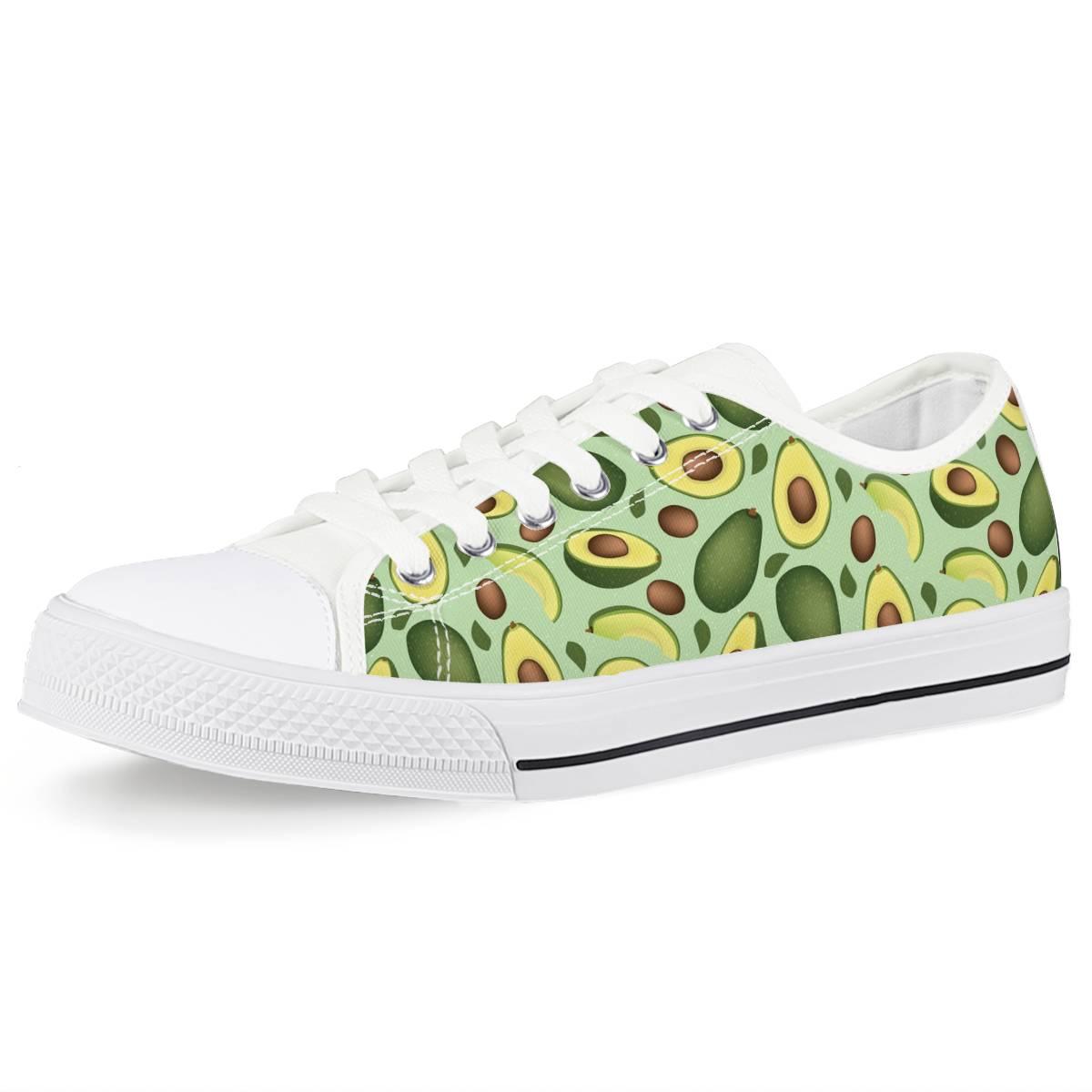Avocado Low Top Canvas Shoes
