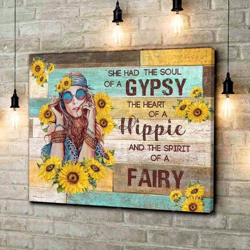 Gypsy Hippie Fairy  Poster Canvas 5232203014
