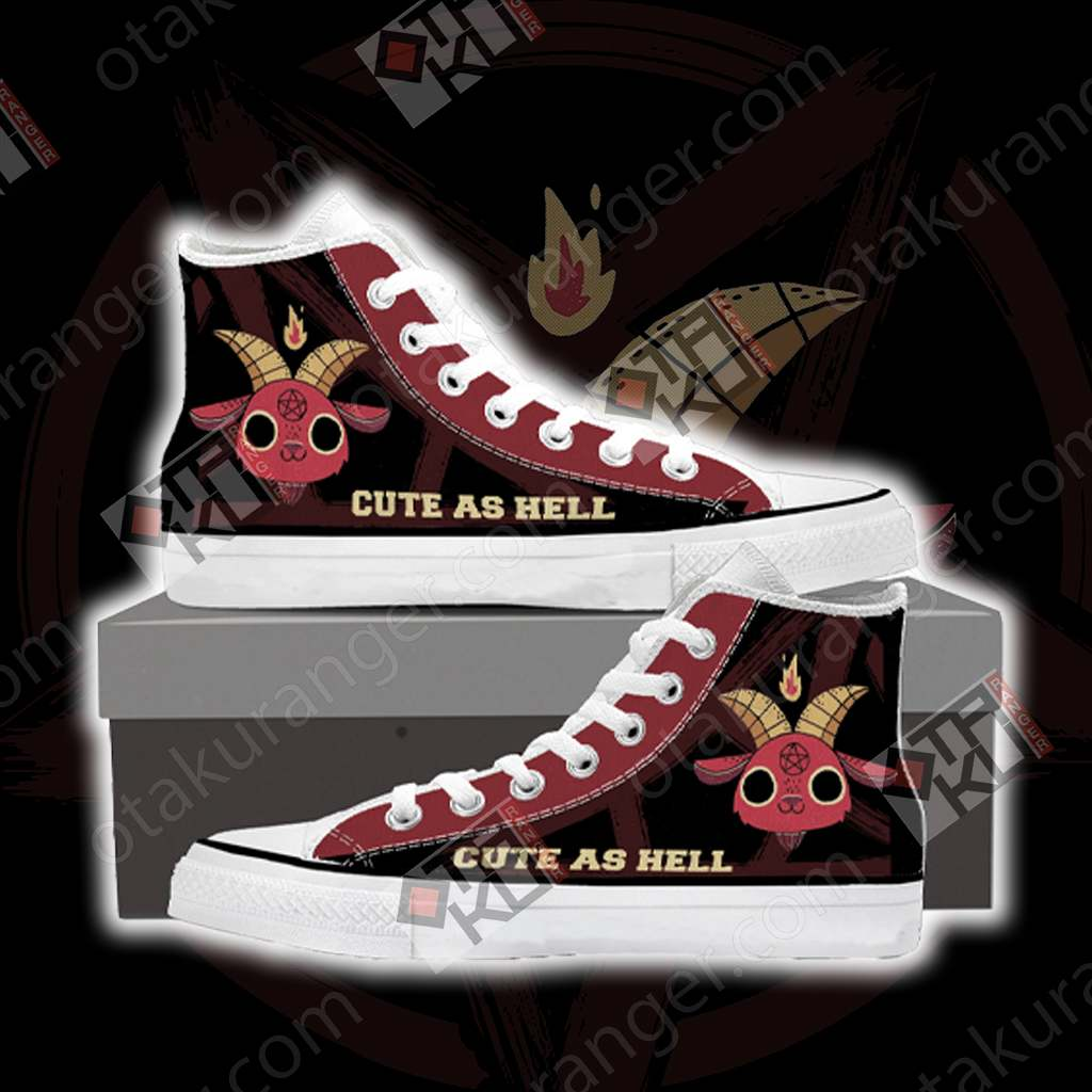 Cute As Hell High Top Shoes