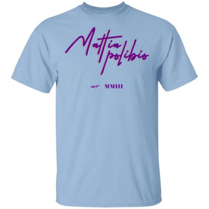 Mattia Polibio Merch Shirt