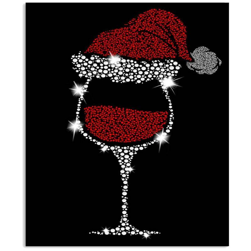 Christmas Gift For Wine Lovers Custom T-shirt Vertical Poster