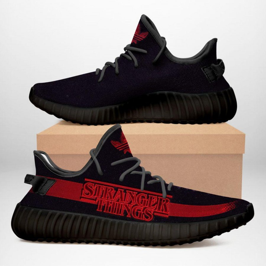 STRANGER –  Yeezy Sneakers Shoes For Men, Women, Runing Yeezy Sneakers Shoes. Custom Yeezy Sneakers Shoes SHOES